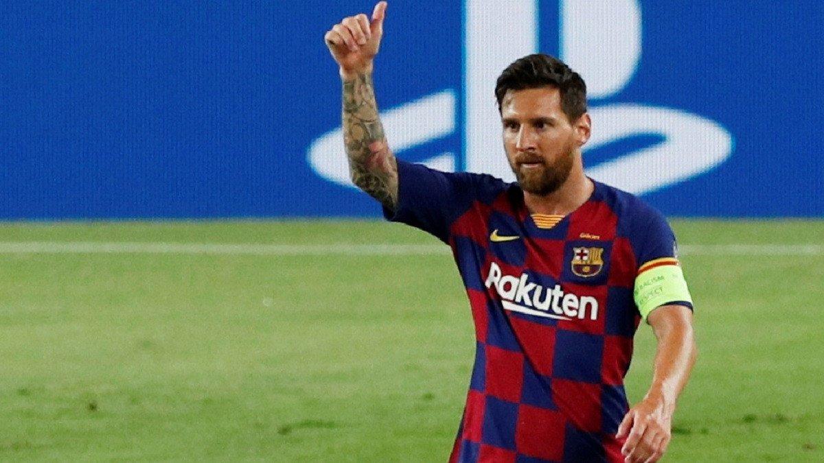 موعد عودة ليونيل ميسي لتدريبات برشلونة