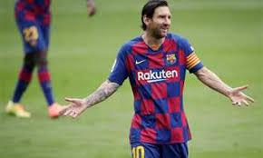 رسمياً ..  ميسي يعلن بقائه مع برشلونة