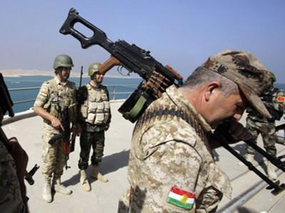 البشمركة تحبط هجوما لداعش بمحور الكوير جنوبي مدينة الموصل