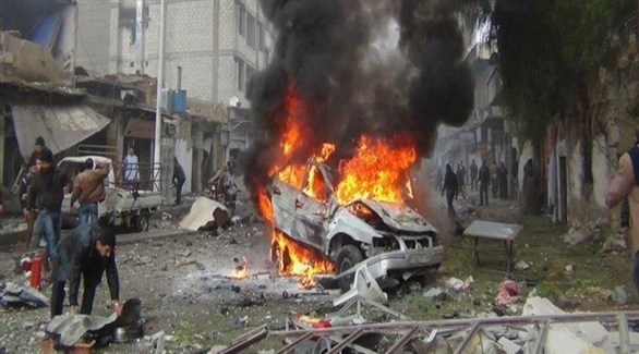مقتل 8 اشخاص بانفجار سيارة مفخخة في سوريا