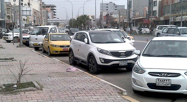 """مرور كردستان تسمح للعرب بنقل ملكية """"السيارات الشمالية"""""""