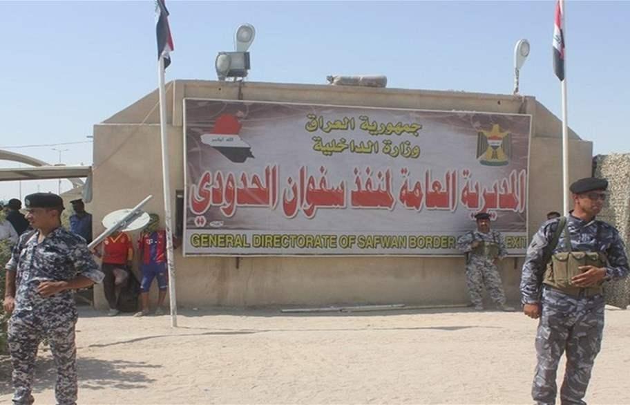 الكويت تبعد عراقياً من اراضيها الى منفذ سفوان