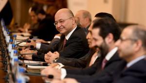 الحلبوسي: رئيس الجمهورية لايستطيع تقديم مرشح لرئاسة الحكومة دون اتفاق الكتل الشيعية