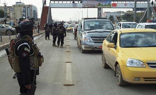 اعادة فتح أغلب الطرق المغلقة في بغداد واغلاق الكاظمية