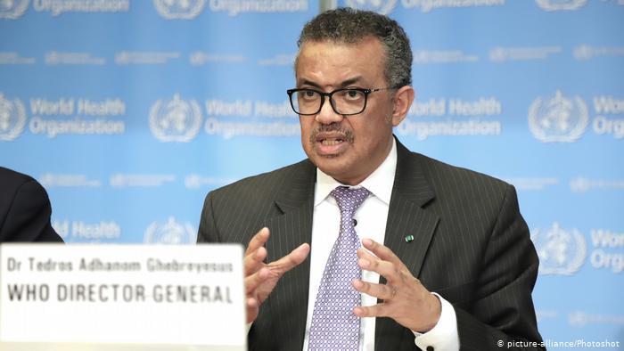 الصحة العالمية تدعو الدول للتأكد من توفر اساسيات الغذاء للمواطنين اثناء حظر التجول