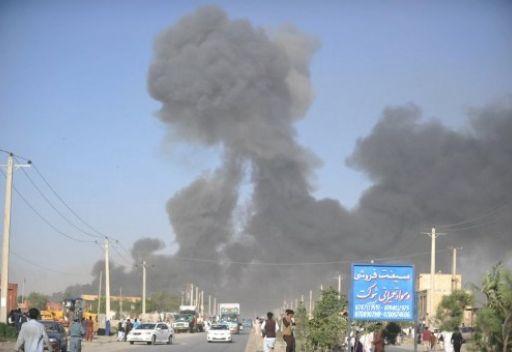 انفجار ضخم قرب مبنى السفارة الأمريكية وسط كابل