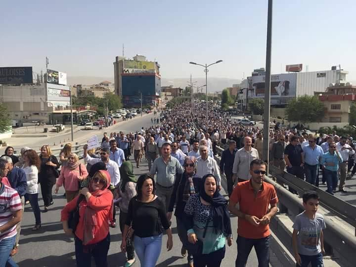 المرصد العراقي للحريات يدين الاعتداء على الصحفيين الذين غطوا احتجاجات سلمية