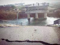 """الأنبار: انهيار جسر البو فراج بعد حيلة نفذها انتحاريان من """"داعش"""""""