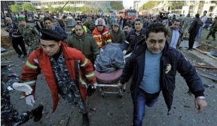 مقتل 5 أشخاص بانفجار في ضاحية جنوب بيروت