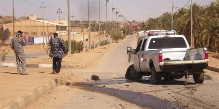 قتل احد  اﻻنتحاريين في منطقة الطارمية كان ينوي استهداف زائرين الكاظمية