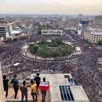 معتصمو التحرير يحذرون القوات الأمنية من اقتحام ساحة الحبوبي في ذي قار