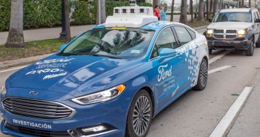 فورد تستعد للكشف عن أسطول من السيارات بدون سائق بحلول 2021