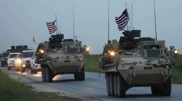 اميركا ترسل تعزيزات عسكرية لجيشها في شمال شرق سوريا