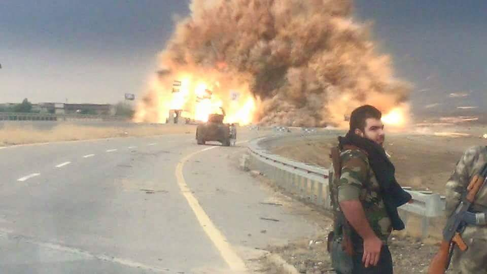 مقتل 15 ارهابياً وتدمير معمل لتصنيع العبوات والعجلات المفخخة في الانبار