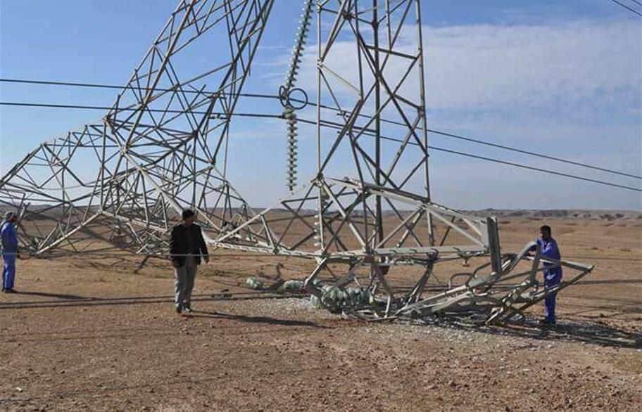 تفجير 3 أبراج رئيسية لنقل الطاقة الكهربائية من إيران إلى ديالى