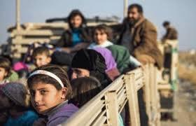 نازحي الجانب الأيمن لمدينة الموصل يتجاوز الـ ٧٠٠ الف شخص
