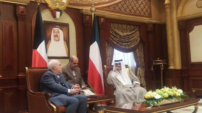 Zarif affirms in Kuwait the Iranian proposal to sign a non-aggression treaty with the Gulf states Image
