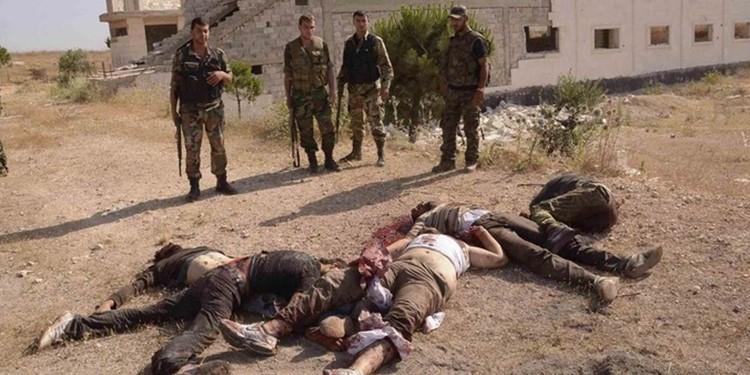 مقتل خمسة من داعش بينهم قيادي وتدمير مضافتين في المطبيجة