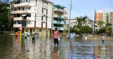 مصرع 4 أشخاص فى كوبا بسبب سيول أعقبت العاصفة ألبرتو