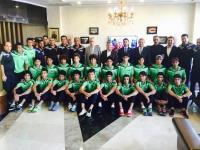 شباب العراق يتوجه اليوم الى طاجيكستان للمشاركة بتصفيات بطولة اسيا