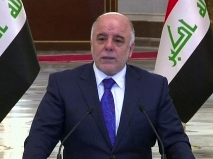 Abadi attacking al-Maliki and he describes as governor and selected age and must be held accountable