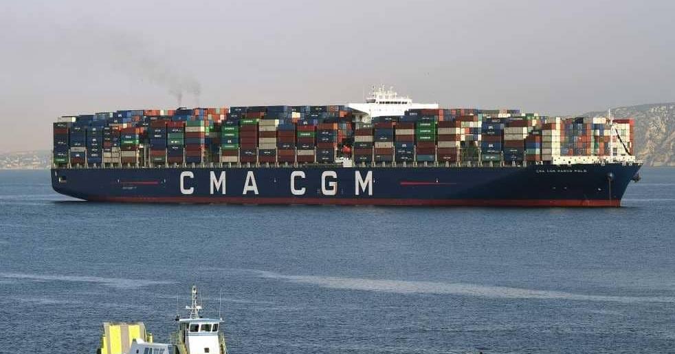 انسحاب شركة شحن فرنسية عملاقة من إيران