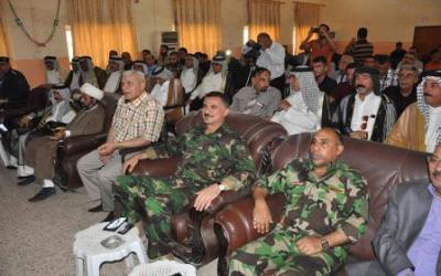 اشتباكا مسلح يندلع بين حماية مسؤولين محليين جنوبي بغداد والسبب؟؟