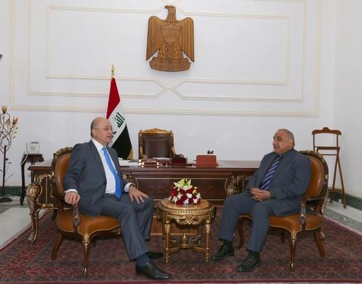 صالح وعبد المهدي يبحثان ما تم تنفيذه من البرنامج الحكومي