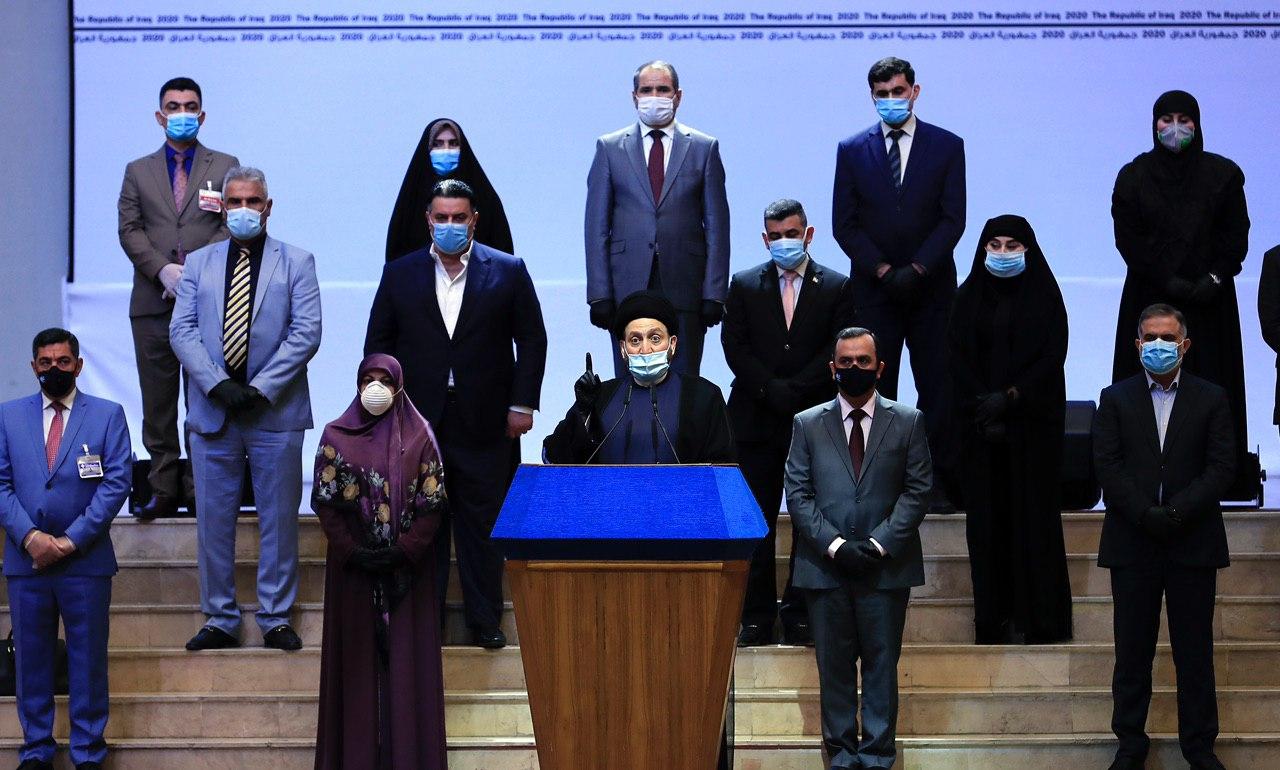 بالاسماء  ..  اعضاء الكتلة البرلمانية لتحالف عراقيون