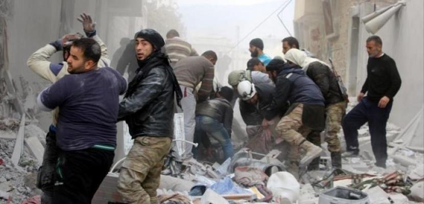 مقتل 4 أشخاص وإصابة أخرين فى قصف على حماة وإدلب