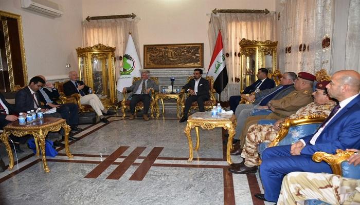 محافظ الأنبار يلتقي سفير الاتحاد الاوربي في العراق