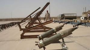 Three missiles targeting a camp where the US military is located north of Baghdad Image