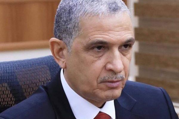 وزير الداخلية يصل إلى محافظة المثنى