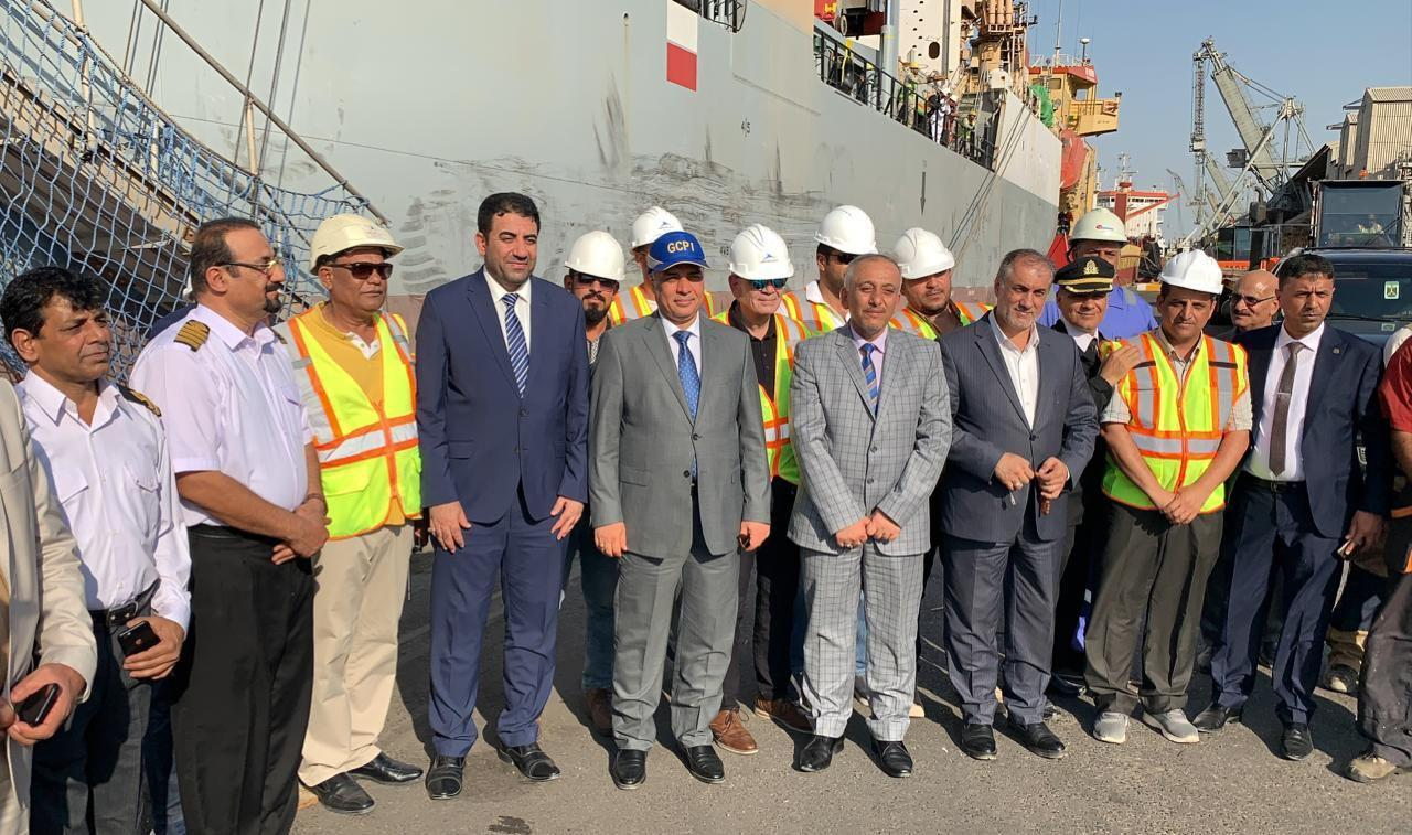 Iraqi ship arrives in Los Angeles Image