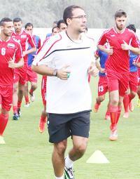الاتفاق مع مدرب اللياقة  الاسباني غونزالو على ليبدأ عمله مع المنتخب الاولمبي بكرة القدم