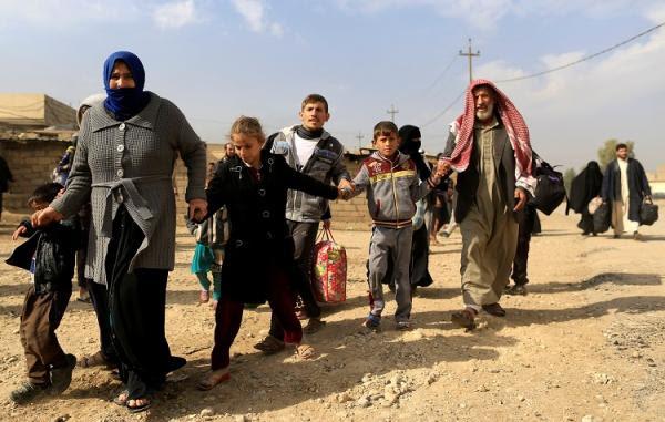 اعتقال 59 ارهابيا منتميا لداعش خلال محاولة دخولهم كركوك