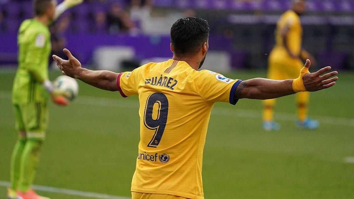 سواريز ينهي عقده مع برشلونة