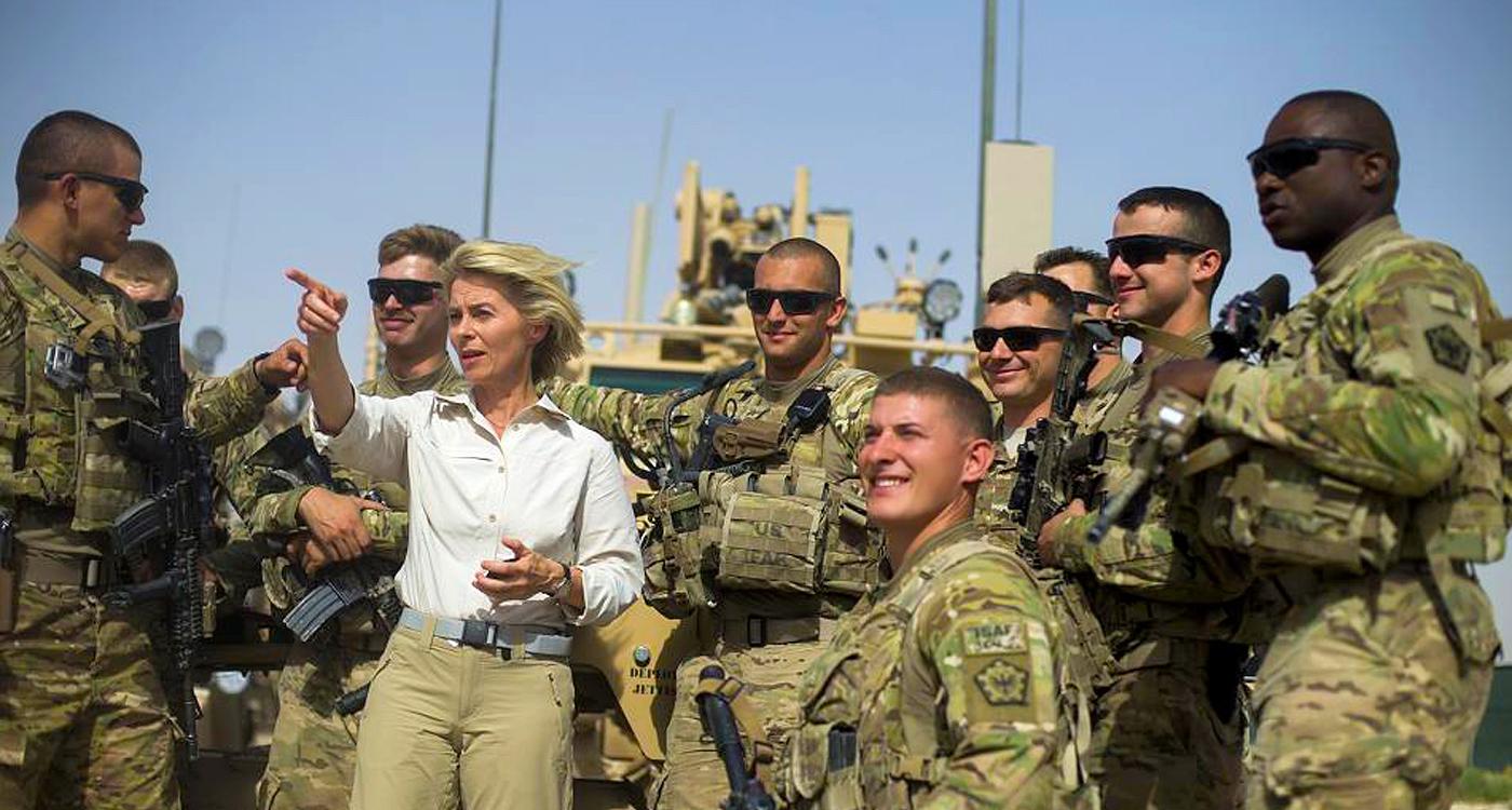 وزيرة الدفاع الالمانية تدعو لتمديد انتشار قواتها في العراق
