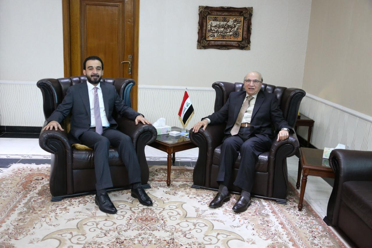 Halabousi to the President of the Federal Supreme Court: are determined to enact laws serving the Iraqi citizen Image