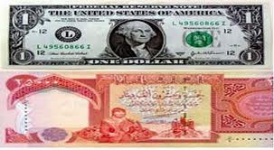 the high exchange rate of the dollar against the Iraqi dinar