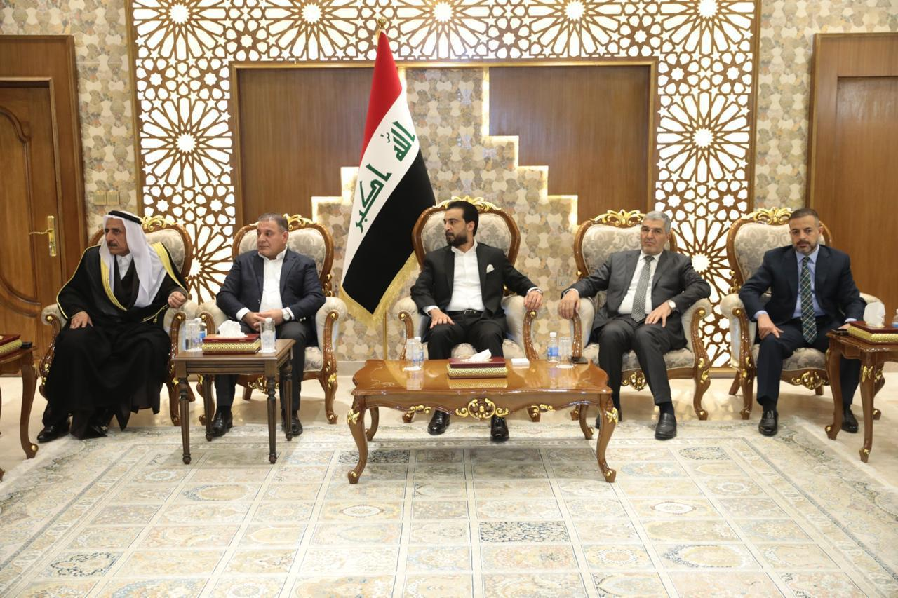 Alliance of forces headed by Halbousi discusses the demands of demonstrators and political developments Image
