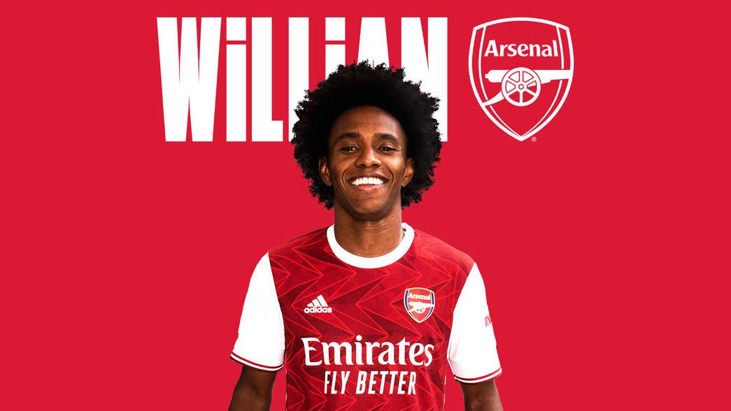 رسمياً ..  آرسنال يضم ويليان لمدة 3 أعوام