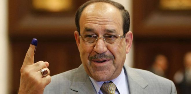 "Maliki is finally aware of ""expiration"" and inform the preachers ""withdrawal"" from the former positions! Image"