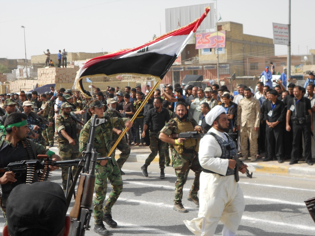 Daash dominated by gray and Iranian Defense Minister Arrives in Baghdad