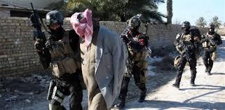 اعتقال 8 من عناصر داعش في عملية مداهمة غرب الموصل