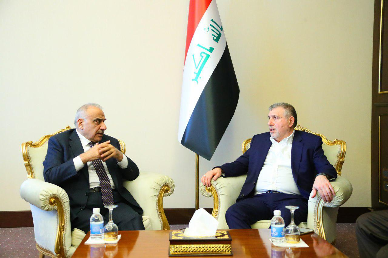 Allawi and Abdul-Mahdi agree to continue to the utmost degree of cooperation and consultation during the transitional period Image