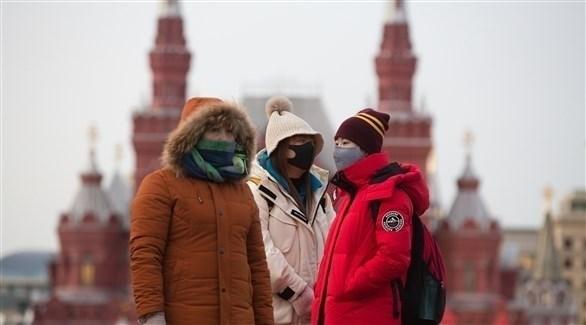 روسيا تسجل 7867 اصابة جديدة بكورونا