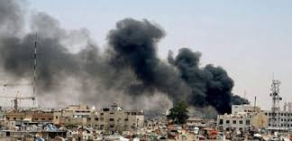 مقتل 6 أشخاص فى قصف على مواقع المعارضة جنوب دمشق
