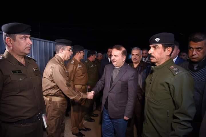 وزير الداخلية يصل الانبار للاطلاع على الواقع الامني