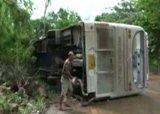 تعرض 28 سائحا روسيا لحادث مروري بتايلند